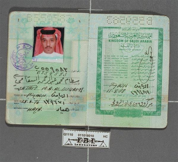 Resultado de imagem para passaporte terrorista world trade center